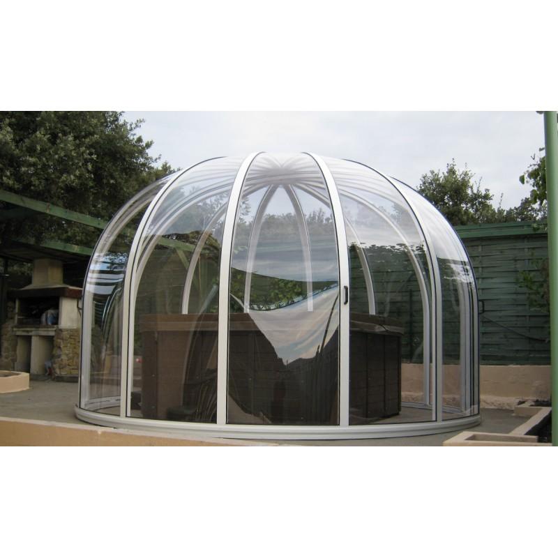 abri de spa en haute savoie vision l 39 abri de piscine. Black Bedroom Furniture Sets. Home Design Ideas