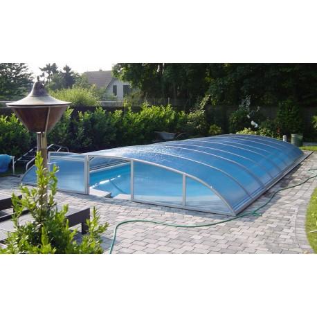 Abris de piscines semi-bas